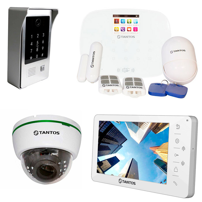 Продажа и установка видеодомофонов Tantos в Рязани