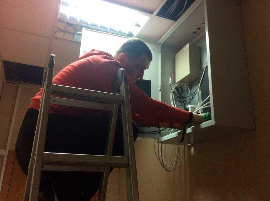 Техническое обслуживание систем видеонаблюдения и безопасности