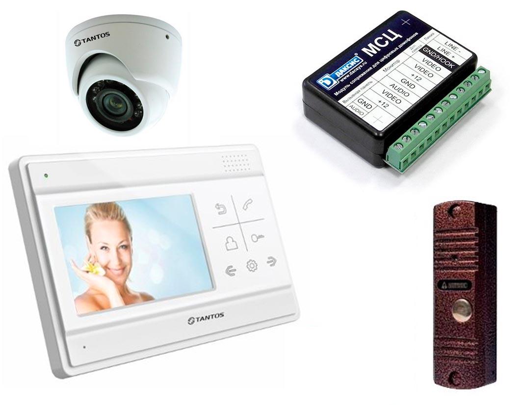 Продажа и установка видеодомофонов в Рязани