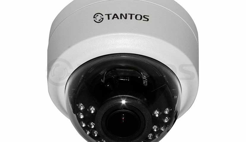 Купольная видеокамера Tantos TSc-Decov (2.8-12)