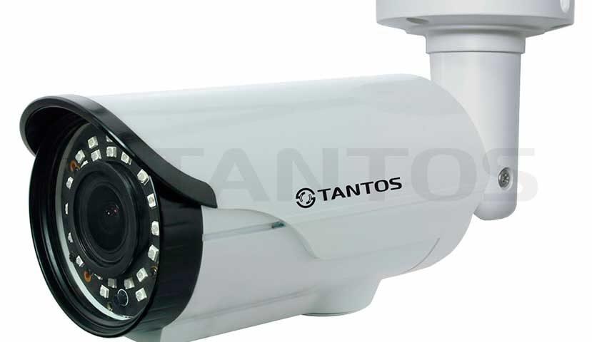 Цилиндрическая видеокамера Tantos TSc-PL720pHDv (2.8-12)