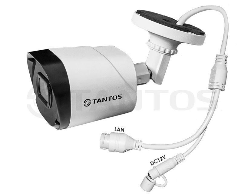 Цилиндрическая IP-камера Tantos TSi-Peco25FP (3.6)