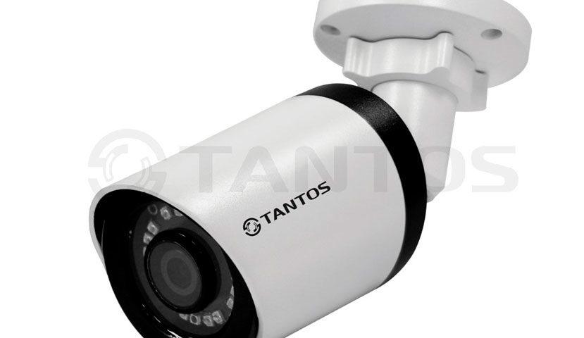 Цилиндрическая IP-камера Tantos TSi-Pe25FP (3.6)