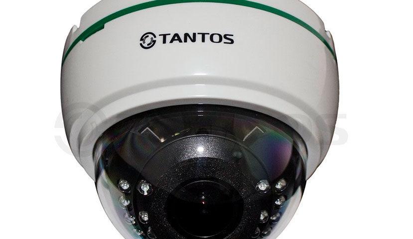 Купольная IP-камера Tantos TSi-De25VPA (2.8-12)